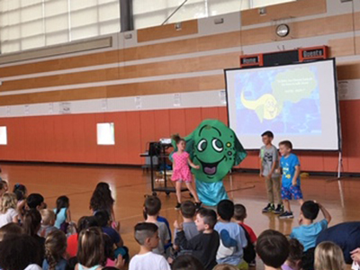 characters School Safety Shows