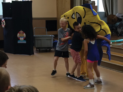 children-dancing-Safer3-School Safety Shows